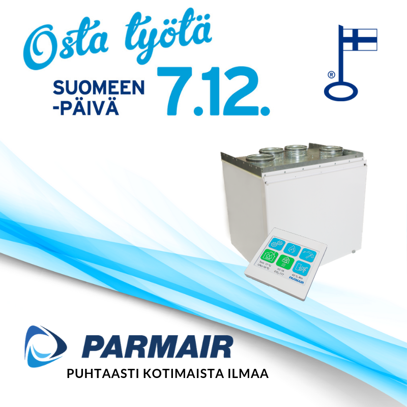 Osta työtä Suomeen -päivä 7.12.